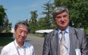 Professor A. Koichi Hayashi from the Aoyama Gakuin University and Professor Piotr Wolański from the Institute of Aviation in Warsaw