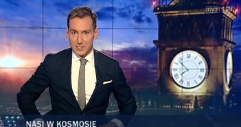 Wiadomości TVP - rakieta Bursztyn