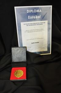 Złoty medal - Innova Brussels 2015