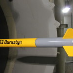 Bursztyn rocket – tunnel tests