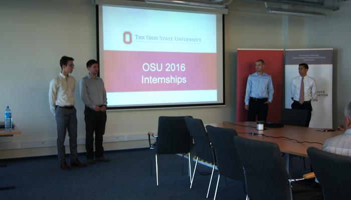 OSU 2016 internship