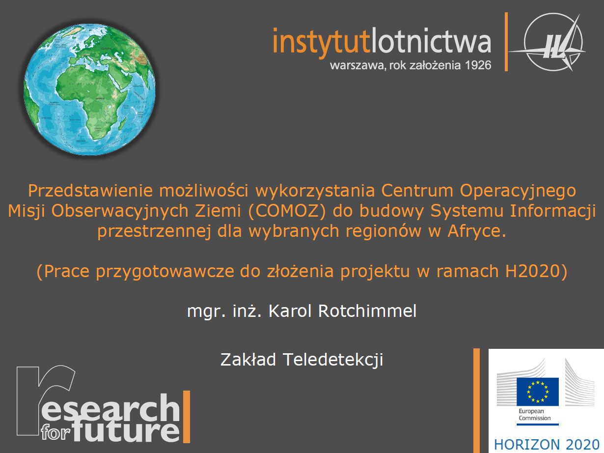 Seminarium projektu statutowego COMOZ