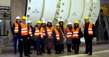 Wizyta delegacji z Ministerstwa Rozwoju w Instytucie Lotnictwa