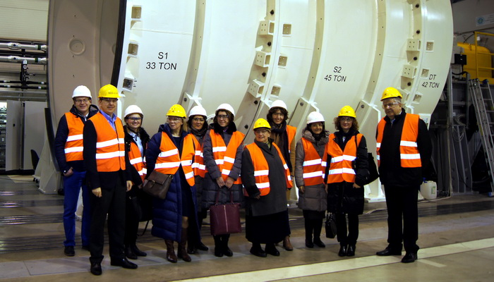 Ministry of Development delegates visited the Institute of Aviation