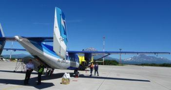 An-28 wyprodukowany w Polsce. Przyleciałem na Kamczatkę. Fot. Krzysztof Szafran