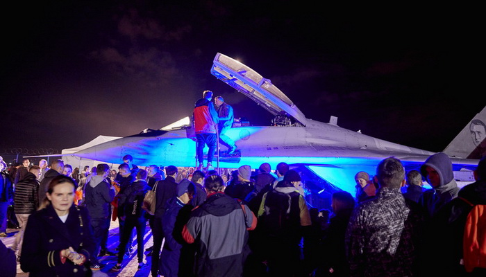 More than 37 thousands fans gather for the 8th Night at the Institute of Aviation