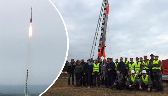 "ILR-33 ""Amber"" sounding rocket completes successful flight test"