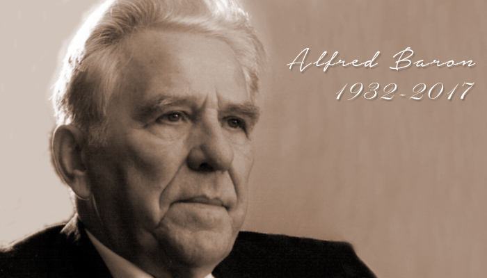 Alfred Baron has passed away