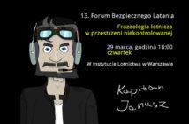 13 Forum Bezpiecznego Latania | 13th Safe Flying Forum