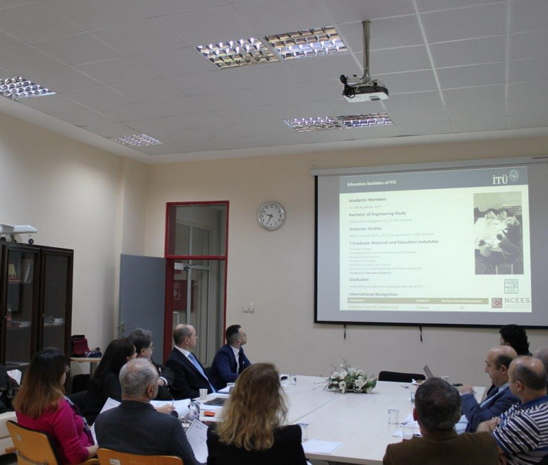 Spotkanie z kadrą akademicką Istanbul Technical University |Meeting with the academic staff of Istanbul Technical University