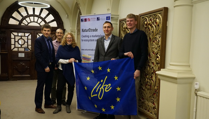 Spotkanie na Uniwersytecie Oksfordzkim – przedstawiciele projektu NaturEtrade oraz Instytutu Lotnictwa | Meeting at the University of Oxford – representatives of the NaturEtrade project and the Institute of Aviation