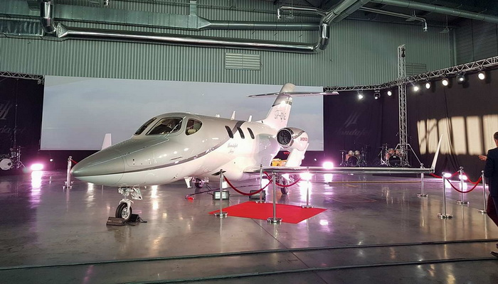 The first HondaJet landed in Warsaw. Its engine has been partially designed in Poland