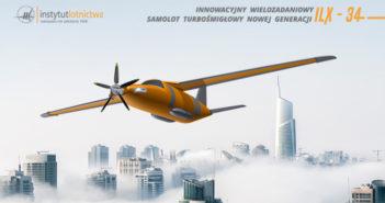 Polski innowacyjny samolot turbośmigłowy nowej generacji ILX-34