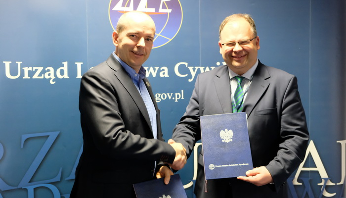 Źródło: Urząd Lotnictwa Cywilnego | Photo credit: Civil Aviation Authority