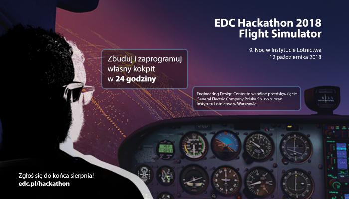 Zapraszamy naEDC Hackathon 2018 – Flight Simulator