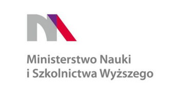 Logotyp Ministerstwa Nauki i Szkolnictwa Wyższego | The logo of the Ministry of Science and Higher Education