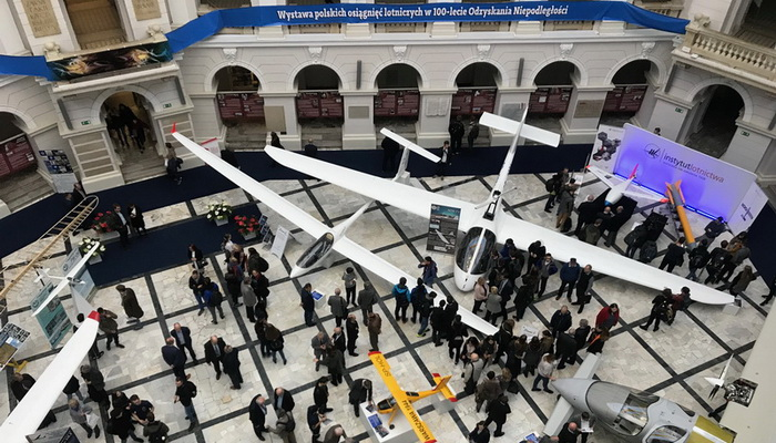 "The products of the Institute of Aviation at the ""Per aspera ad astra"" exhibition"