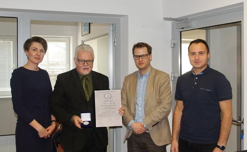 Srebrny medal dla twórców rakiety ILR-33 BURSZTYN | Silver medal for ILR-33 AMBER rocket creators
