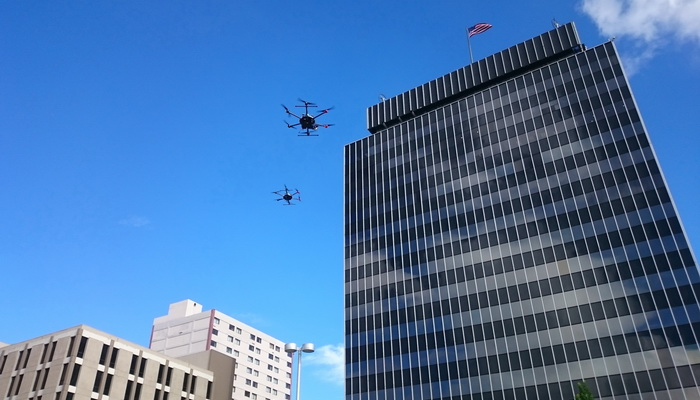 Polish engineers are testing the technologies of the future to enable unmanned flights  in urban conditions